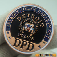 US Army Military City of Detroit Police Department Challenge Coin Collection