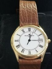 14k Baume Mercier Classima 95248 Wristwatch with Original Box And Instructions