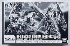 Bandai Hguc 1/144 Phenex type Rc Unicorn mode silver coating limited model kit