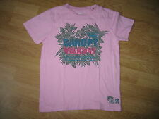 T-shirt fille rose motif OKAIDI TBE - Taille 8 ans