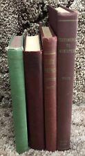 Ellen G White 4 Vintage HB Books Gospel Workers Stewardship Writings Ministers