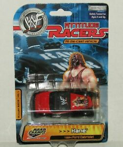 """2001 WWE/WWF ROAD CHAMPS 1/64th scale """"KANE"""" ATTITUDE RACERS [MOC]"""