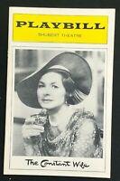 BOSTON PLAYBILL - Mar 1975 - THE CONSTANT WIFE - INGRID BERGMAN   b4