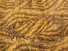 Dog Collar Pinch Chain Training Choke Prong Pet Supply Metal Necklace DD