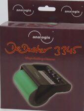 Analogis DeDuster 3345 Vinyl Schallplattenroller Reiniger schwarz grün NEU