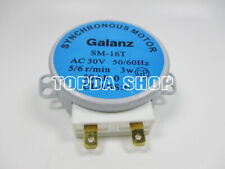 1PC GALANZ GAL-5-30-TD microwave oven turntable synchronous motor AC30V