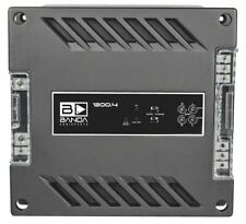 Banda 4 Channel 300 Watts Max 1 Ohm Car Audio Amplifier - 1200.41OHM