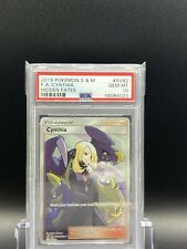 PSA 10 GEM MINT CYNTHIA FULL ART SM Hidden Fates