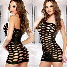 CN Plus Size 2XL 3XL 4XL 5XL Women Sexy Lingerie Babydoll Sheer Dress 6FP
