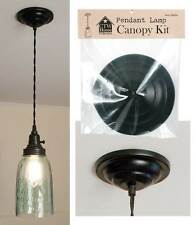 Rustic Antique Pendant Lamp Canopy Kit Hanging Ceiling Lighting Fixture Hardware