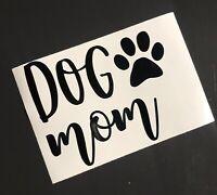 Dog Mom Decal Sticker Car Laptop Mug