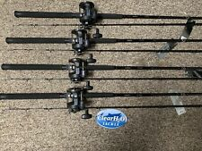 4PK NEW SHIMANO TDR 9' MEDIUM W/ MAGDA PRO MA-30DX SALMON WALLEYE