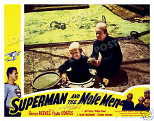 SUPERMAN AND THE MOLE MEN LOBBY SCENE CARD # 5 POSTER 1951