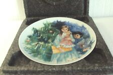"""Limoges-Turgot of France Collector's Plate """" Cecile et Raoul """" No Bc 525 /w Box"""