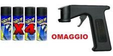 PLASTI DIP NERO OPACO KIT 4  pellicola spray + OMAGGIO AUTO AMERICANO