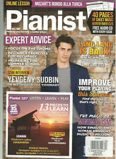 PIANIST MAGAZINE NO.107 APRIL/MAY 2019 WITH LESSON CD