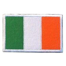 IRELAND FLAG PATCH IRISH EMBROIDERED REPUBLIC EMBLEM VELCRO