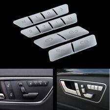 Car Seat Memory Buttons Cover Trim fit For Mercedes Benz A B E GLA GLK GLE ML