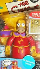 The SIMPSONS world of springfield STONECUTTER HOMER SIMPSON Playmates moc