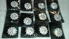 wholesale Lot of 24 pcs pretty Vintage  Brooches/pin for Wedding .
