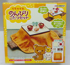 San-X Rilakkuma Japanese Kotatsu Set Leisurely - Re-ment h#2