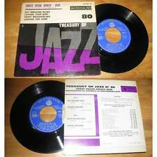 SWEET PEASE SPIVEY - Treasure Of Jazz N°80 Rare French EP Jazz With Languette 68