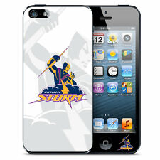 Licensed NRL Club Melbourne Storms Footy Team Back Case Cover Apple iPhone 5