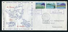 Nederlandse Antillen FDC E2 _  4 M, met adres ;