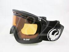 DRAGON Snow Goggle D2 K Coal / Amber 722-2790