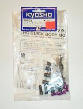 Team Kyosho - HS Quick Body Mount Set (Pure 10, Spider 4WD- Part No. 39502