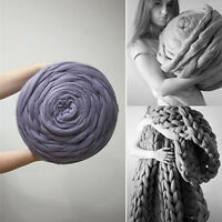 Hand Knitting Blanket Hats Super Thick Chunky Yarn Roving Bulky Yarn Lot/250g
