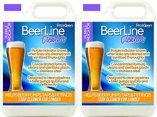 More details for purple beer line cleaner sanitise pipe pump wash cleaning pub bar lines 2 x 5l