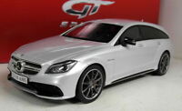 GT Spirit 1/18 Scale Resin - GT725 - Mercedes Benz CLS Shooting Brake Silver
