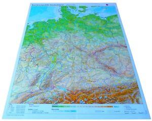 Landkarte Bundesrepublik Deutschland 1:2000000 Gratis Versand Neu