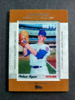 2013 Topps Manufactured Card Patch #MCP-14 Nolan Ryan New York Mets Baseball
