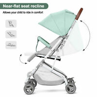 3 IN1 Baby Infant Foldable Umbrella Stroller Lightweight Carriage Pushchair New