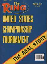 United States Champion Ship The Ring Boxing Magazine August 1977 050918DBX