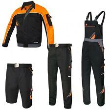 Arbeitshose Latzhose Arbeitsjacke Arbeitsshorts schwarz Berufskleidung Gr. 44-64