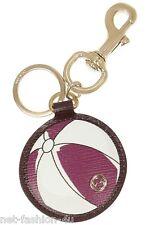GUCCI SHANGHAI beach ball porte-clés en cuir porte-clés sac charme bnwt box
