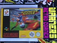 International Superstar Soccer Iss Snes Super Nintendo Boxed  Retro Video Game