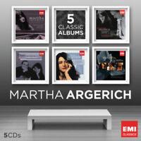 Martha Argerich : Martha Argerich CD Box Set 5 discs (2013) ***NEW***