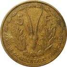 French West Africa AOF Afrique Occidentale Française 5 Francs 1956 KM#5 (3474)