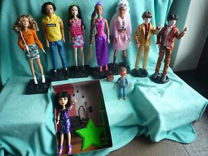 Mattel Barbie BTS Enchantimals Michael Jackson Puppenkonvolut und Snapstar Yuki