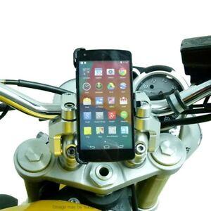 Dedicated Quick Fix Motorcycle Bike Handlebar Phone Mount for LG Google Nexus 5