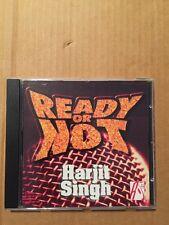Ready Or Not - Harjit Singh - Bhangra - Roma Music Bank  Punjabi Made UK CD Rare