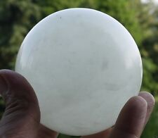 80mm +stand Glow In The Dark Stone crystal Fluorite sphere ball (Iceland SPAR)@