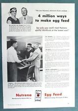 1957 Nutrena Feed Photo Ad Endorsed by Mr/Mrs Leo Fluegel of Rosemount Minnesota