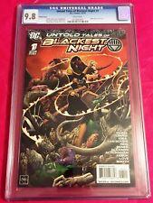 UNTOLD TALES OF BLACKEST NIGHT 1 CGC 9.8 Van Sciver Cover Karu-Sil Green Lantern