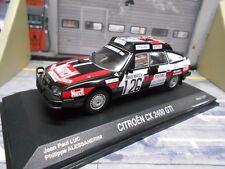 Citroen cx 2400 GTI rally raid parís dakar #126 luc match norev rar 1:43