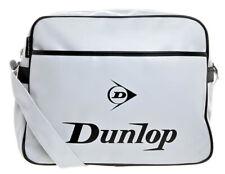 Borsa Tracolla Shoulder Bag Messenger DUNLOP Donna Woman Uomo Man Bianco White D